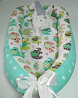 Гнездышко для новорожденного со съемным матрасиком Baby-Sleep