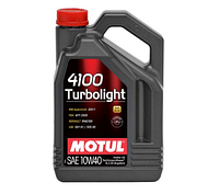 Масло моторное Motul 4100 Turbolight 10W-40 5л