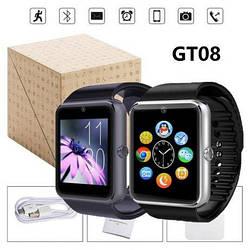 Умные часы Smart Watch GT08 с SIM. 3 цвета в Коробке смарт apple