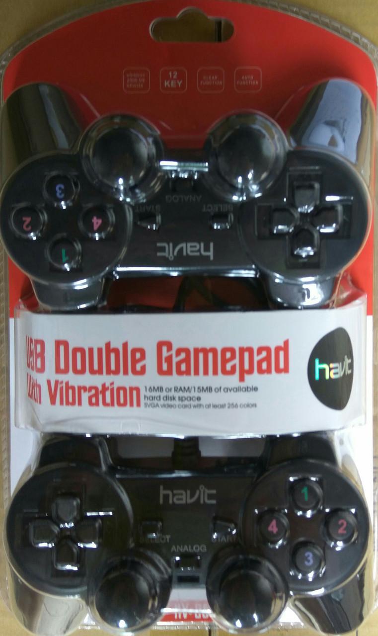 Джойстик игровой HAVIT HV-G61 USB черный
