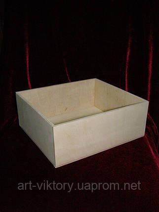 Короб для подарков и декора (22 х 25 х 9,5 см), фото 2