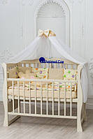 Детский постельный комплект с плюшем Минки