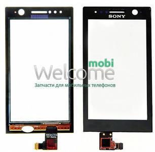 Сенсор Sony ST25i Xperia U black orig