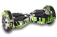 Гироборд SmartWay Lambo Edition Color +Арр 8 Граффити Зеленое (20181116V-125), фото 1