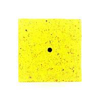 Кубик для макушатника с отверстием 45х45х20 мм, Ваниль