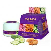 Крем для кожи вокруг глаз с Миндальным маслом и экстрактом Огурца Vaadi Herbals Under Eye Cream Dabur