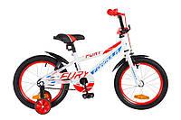 """Детский велосипед Formula Fury 16"""" белый"""