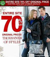 Только 23 ноября. Скидка на wilsons leather -70%