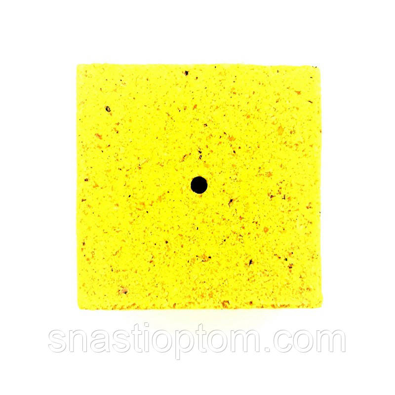 Кубик для макушатника с отверстием 45х45х20 мм, Мед