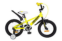 "Детский велосипед Formula Jeep 16"" желтый"