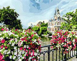 Картина по номерам Цветущий Амстердам (BK-GX21698) 40 х 50 см (Без коробки)