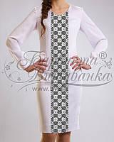 Бисерная заготовка платья женского
