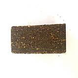 Кубик экструдированный для макушатника с отверстием 45х45х20 мм, Чеснок, фото 2