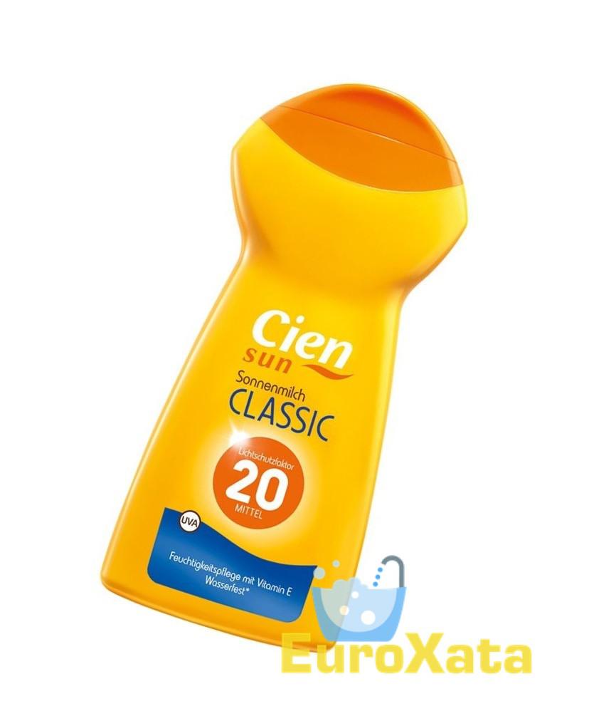Солнцезащитный крем CIEN Sun Milk Classic SPF 20 (250 мл) Германия