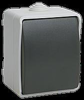 Выключатель одноклавишный для открытой установки ФОРС IP54 ВС20-1-0-ФСр IEK