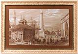 Набор для вышивания крестом Panna GM-1292 Стамбул. Фонтан султана Ахмета, фото 2