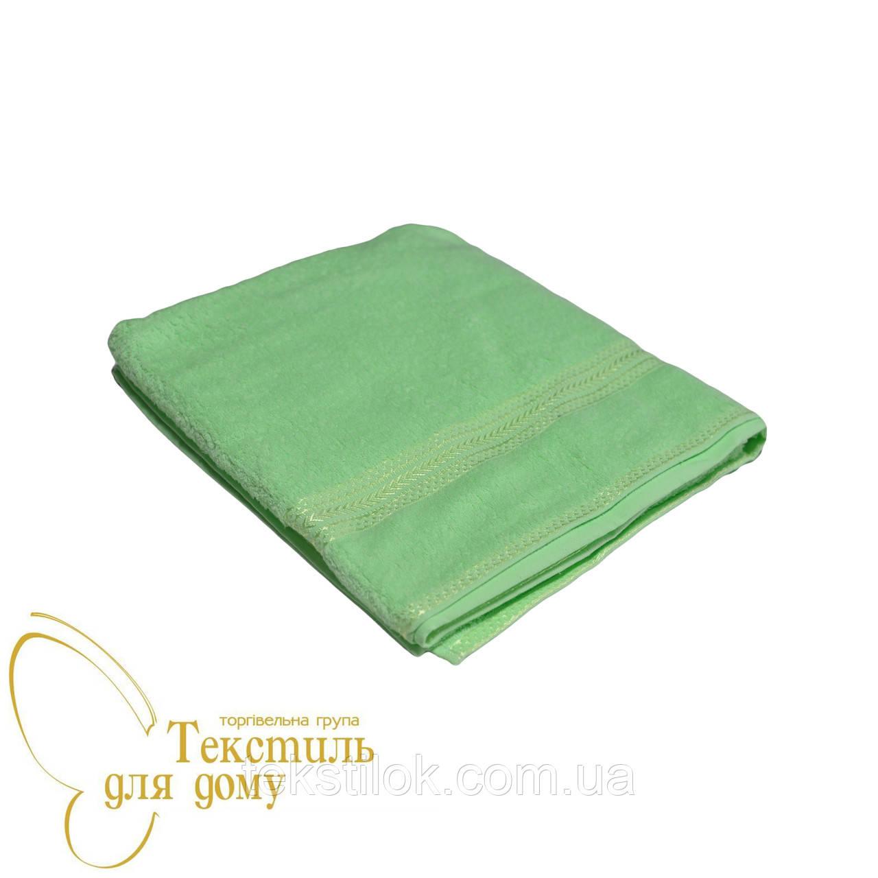 Полотенце для сауны 100*150, 360 гр/м2, салатовое