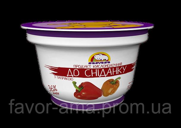 Кисломолочный продукт До сніданку АМА с паприкой 36% (150 г), фото 2