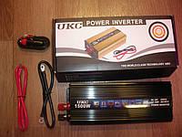 Преобразователь напряжения UKC Technology 24-220В мощностью 1500W, фото 1