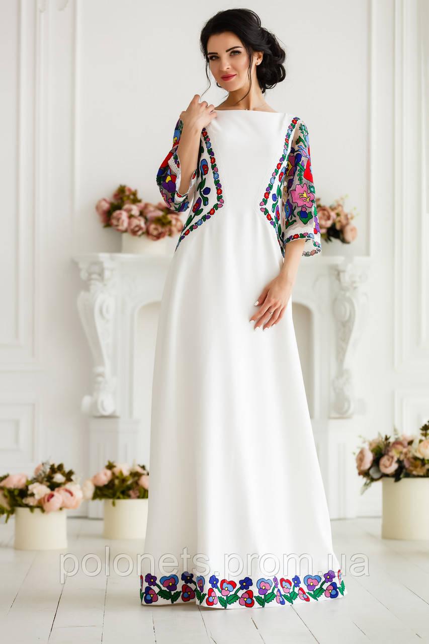 Сукня вишита вечірня  продажа 2deee38433dd8