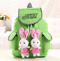 Модный нежный оригинальный рюкзак с зайчиками, фото 1