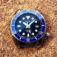 Безель керамический синий на Seiko SUMO SBDC003 SBDC033