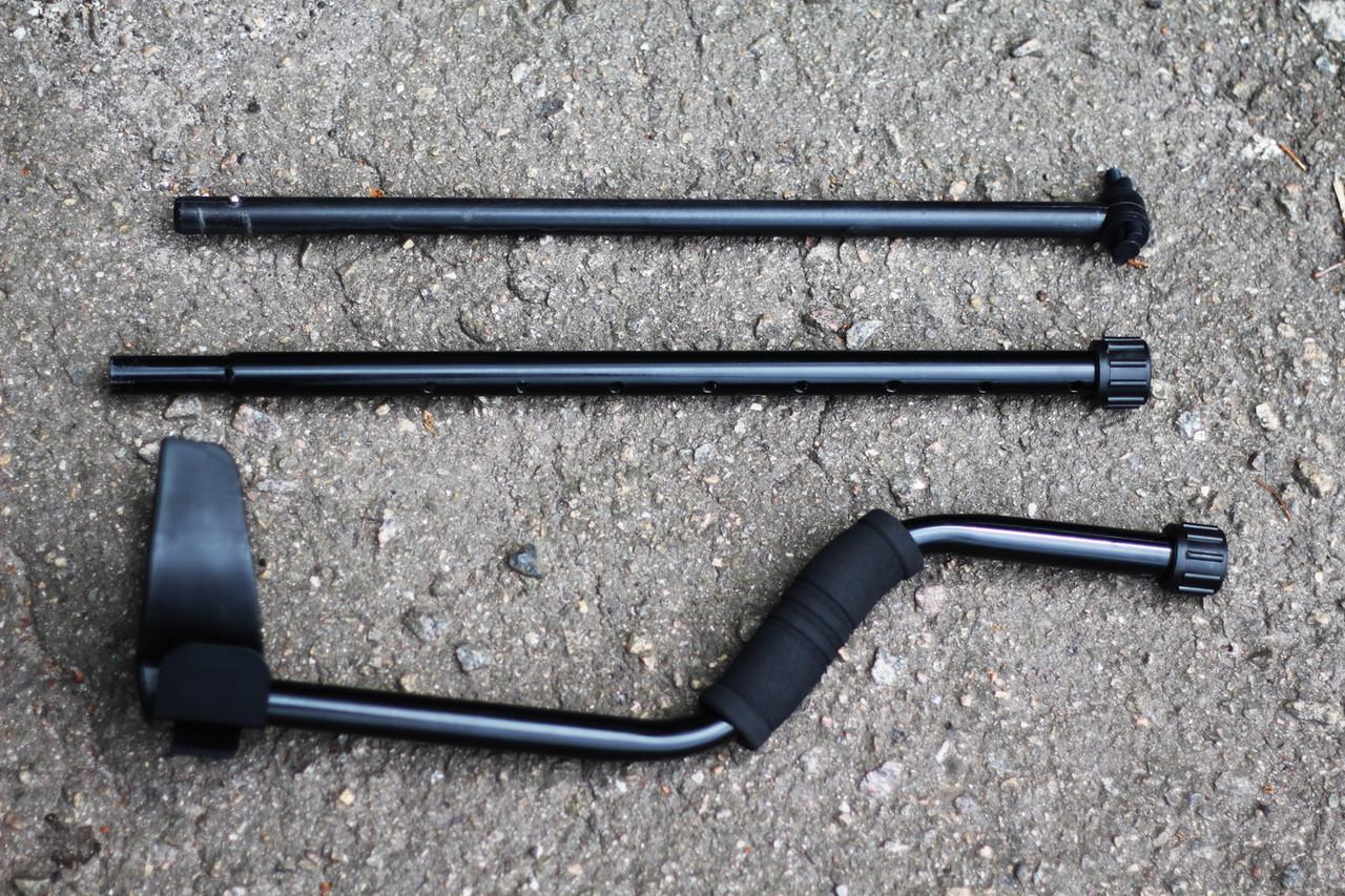 Штанга для металлоискателя - S образная, трех коленная (23568)