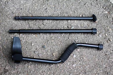 Штанга для металлоискателя - S образная, трех коленная (23568), фото 2