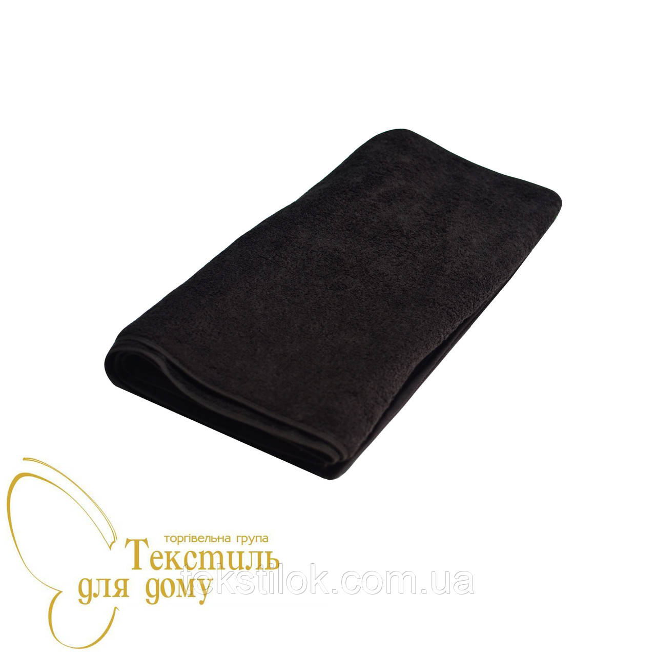 Полотенце лицевое 50*100, 500 гр/м2, 16/1, горький шоколад