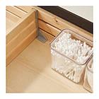 Шкаф с раковиной IKEA GODMORGON / TOLKEN / TÖRNVIKEN 102x49x72 см с 2 ящиками белый бамбук 591.851.34, фото 3