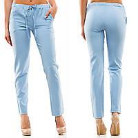 """Стильные женские брюки на резинке """"Casual"""" с карманами (8 цветов)"""