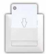 Энергосебер. выкл. (эко) для отелей VISAGE
