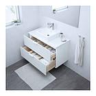 Шкаф с раковиной IKEA GODMORGON / TOLKEN / TÖRNVIKEN 102x49x72 см с 2 ящиками белый 991.851.46, фото 2