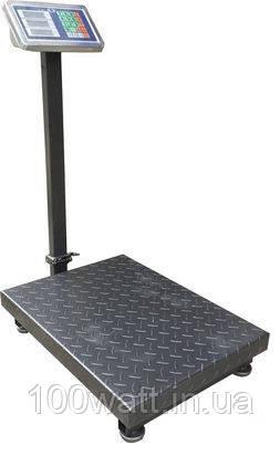 Весы напольные промышленные электронные с рефлённой платформой 150 кг
