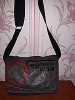 Серая мужская сумка Strellson, фото 1