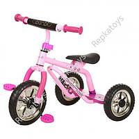 Велосипед три колеса EVA, малиновый (ОПТОМ) M 0688-2