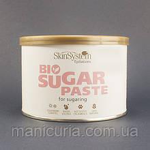 Сахарная паста шугаринг Skin System Medium Bio средняя, 550 г