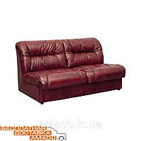 Двухместный офисный диван кожа Визит , фото 1