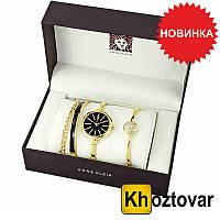 Женские наручные часы Anne Klein Roze Gold Black
