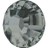 Камені Сваровські клейові гарячої фіксації 2038 Black Diamond F (215)