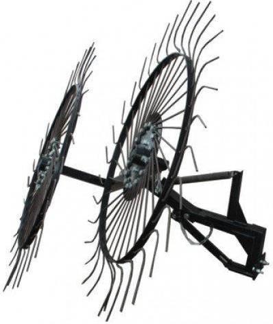 """Грабли ворошилки-солнышко большие тракторные """"Премиум"""" на 3 колеса (1,8м), фото 2"""