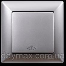 Выключатель перекрестный(реверсивный) Gunsan Visage, VS 28 15 135, серебро