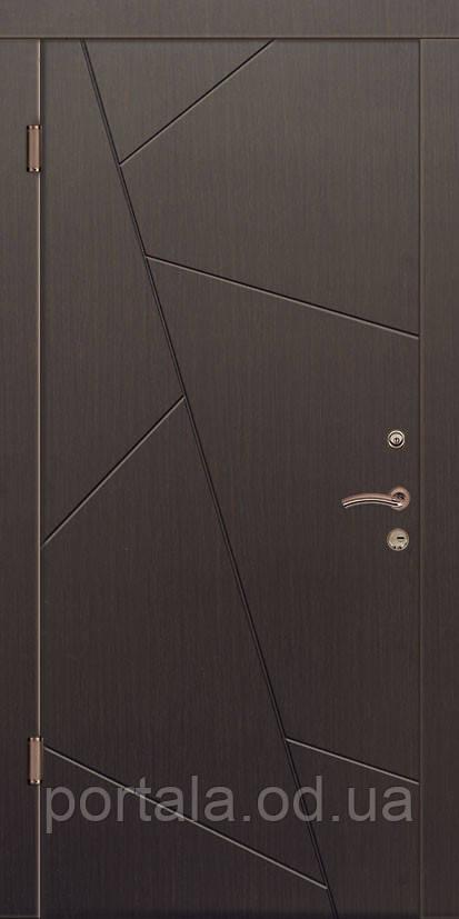 """Вхідні двері """"Портала"""" (серія Комфорт) ― модель Грація 4"""