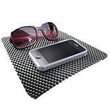 Анти-скользящий коврик для телефона и пр. anti slip dashboard mat, фото 3