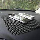 Анти-скользящий коврик для телефона и пр. anti slip dashboard mat, фото 4