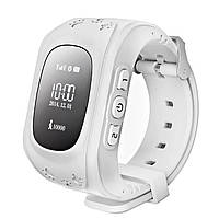Детские умные часы с GPS трекером GW300 (Q50)  White