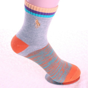 Носки женские спортивные хлопковые POLO высокие