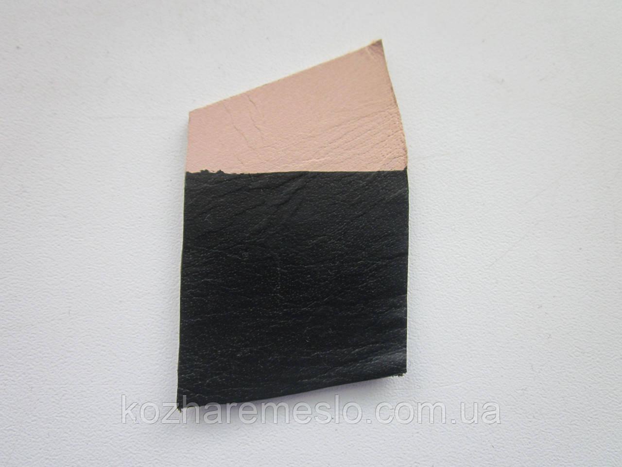 Фарба для шкіри HP COLOURS Fenice на водній основі пігментна 50 мл чорна (Італія)