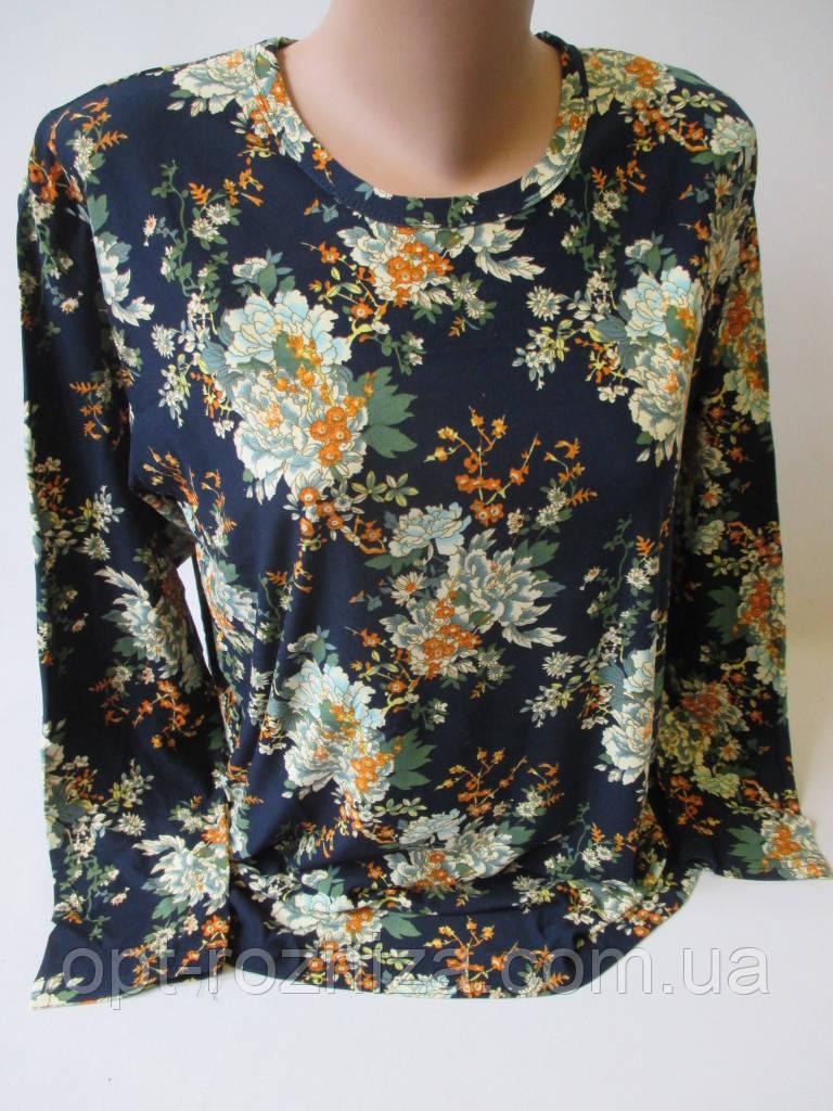 Красивые женские кофты с цветами.