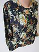 Красивые женские кофты с цветами., фото 3